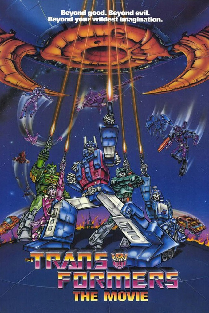 The Transformers: The Movie kapak