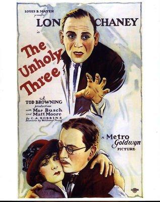 The Unholy Three kapak