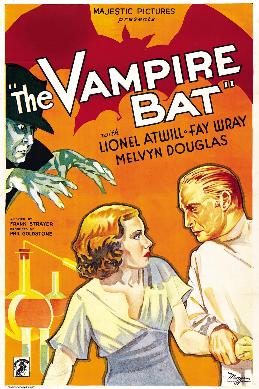 The Vampire Bat kapak