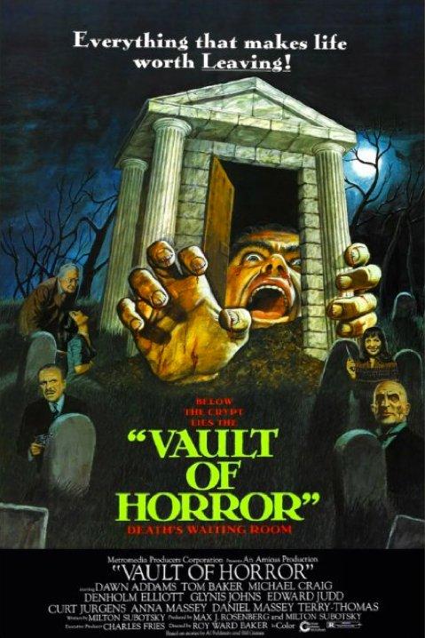 The Vault of Horror kapak