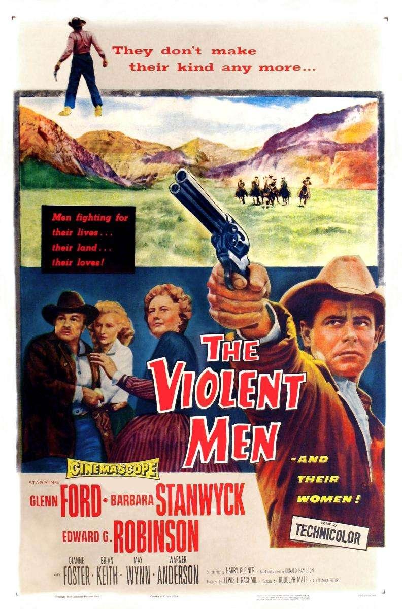 The Violent Men kapak
