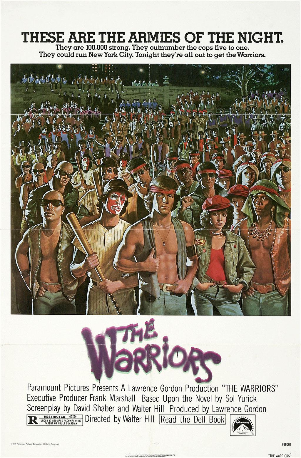 The Warriors kapak