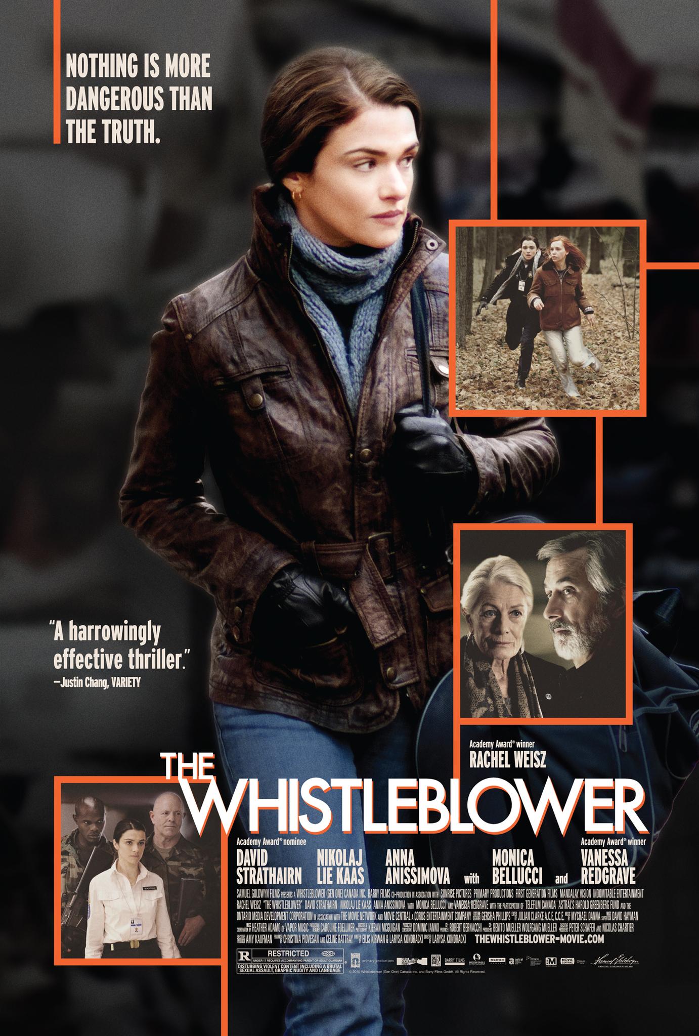 The Whistleblower kapak