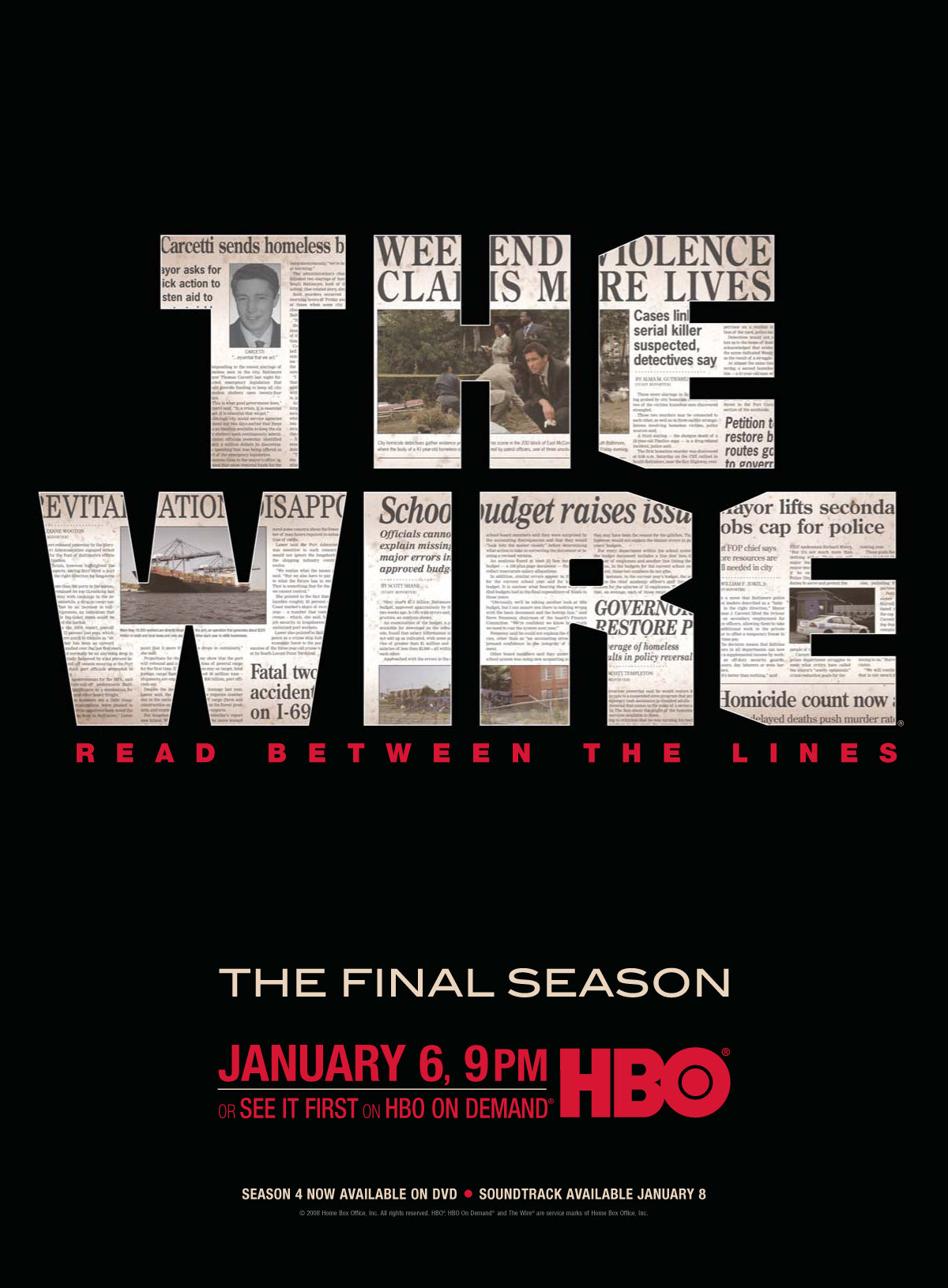 The Wire kapak