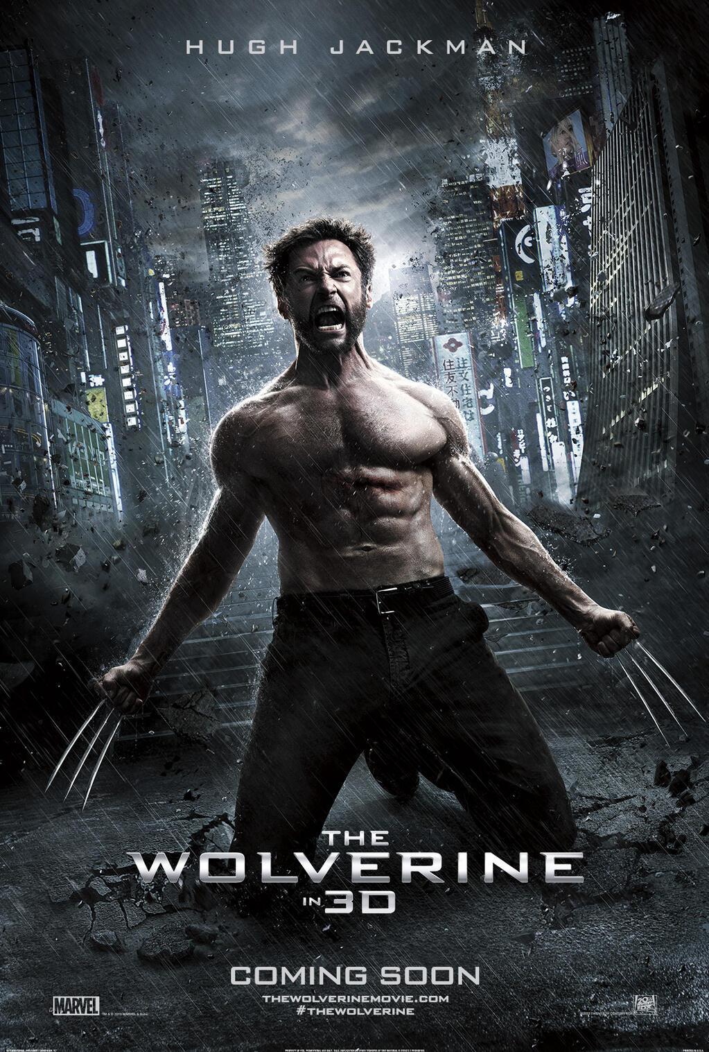 The Wolverine kapak