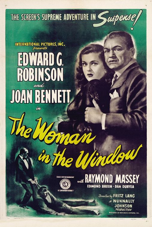 The Woman in the Window kapak