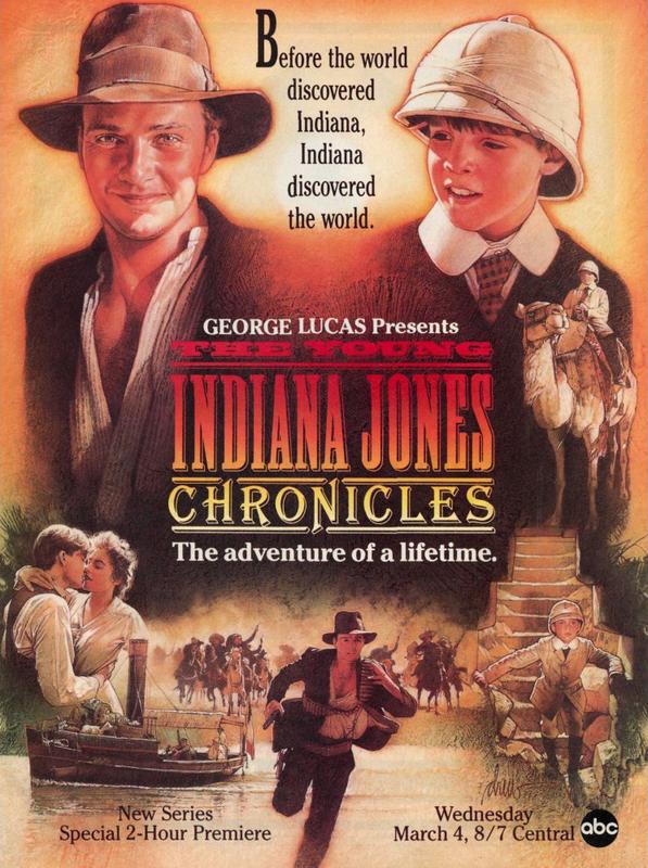 The Young Indiana Jones Chronicles kapak