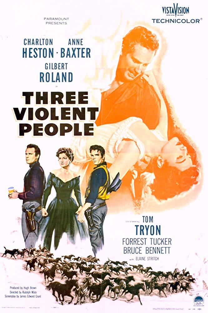 Three Violent People kapak