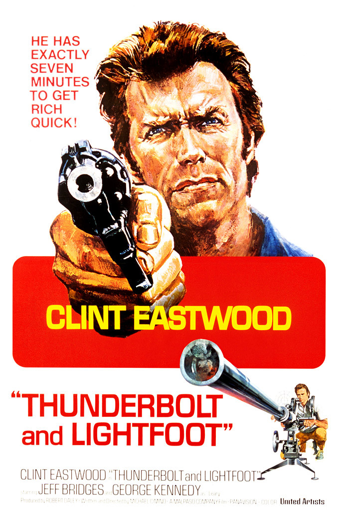 Thunderbolt and Lightfoot kapak