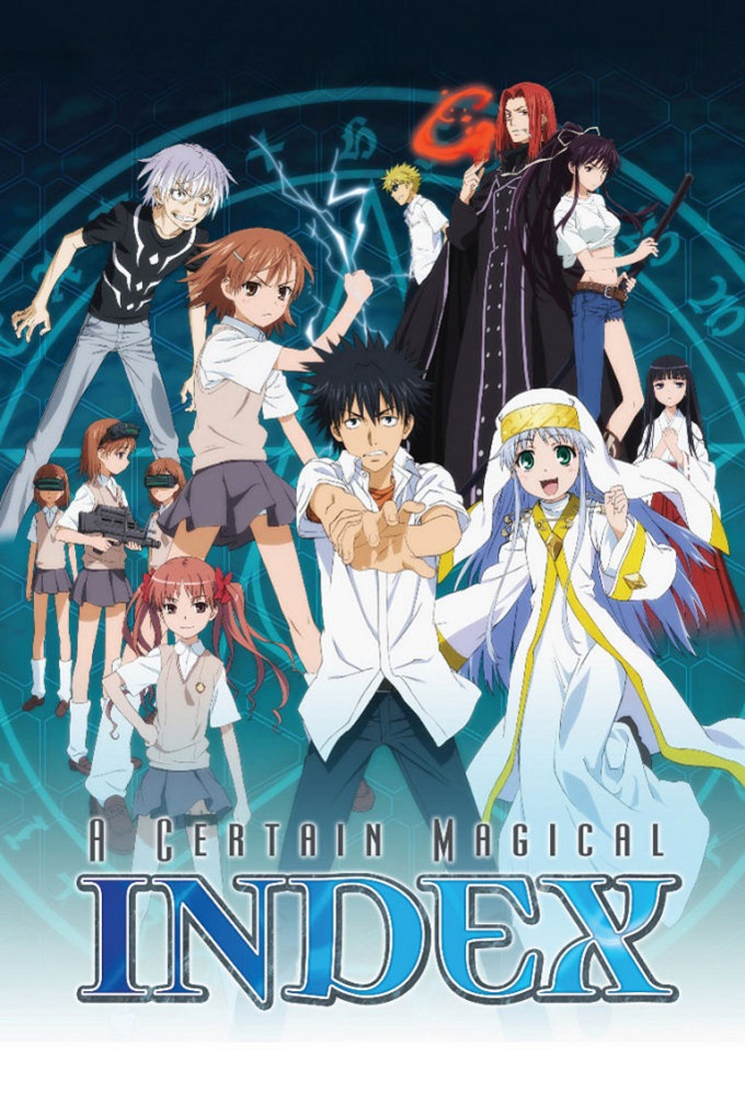 A Certain Magical Index kapak