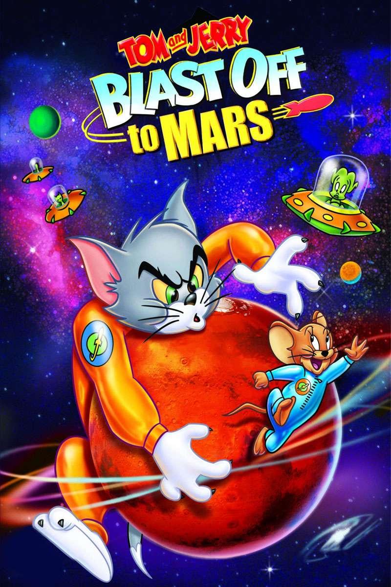 Tom and Jerry Blast Off to Mars! kapak