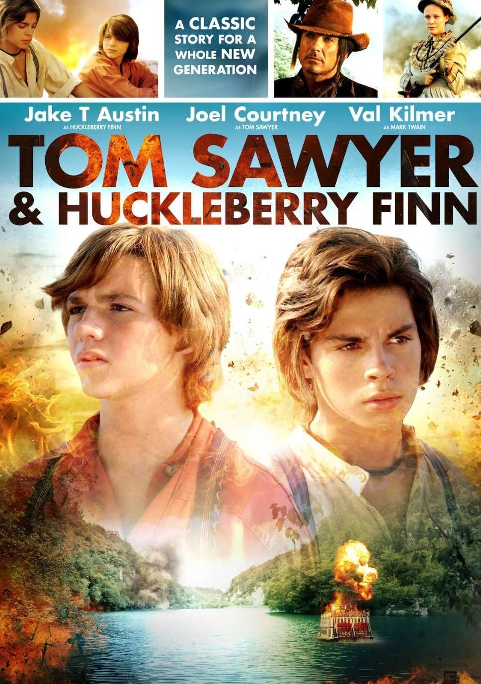 Tom Sawyer & Huckleberry Finn kapak