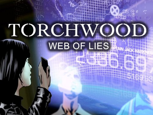 Torchwood: Web of Lies kapak