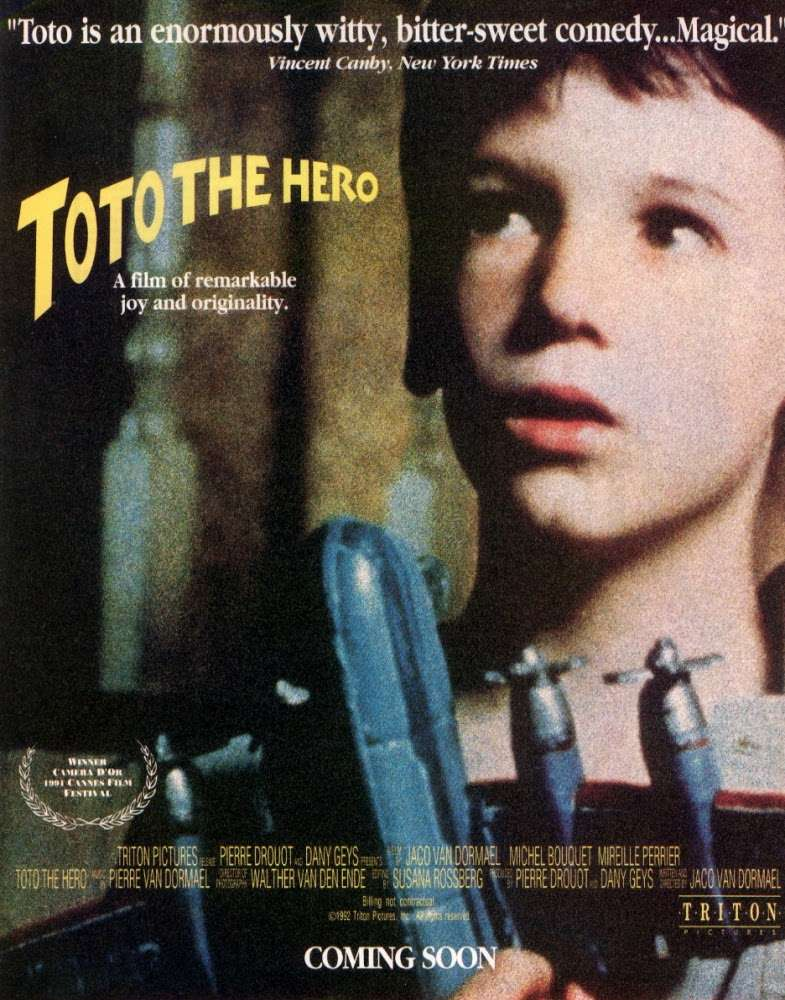 Toto the Hero kapak