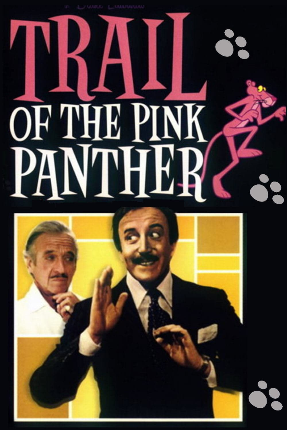 Trail of the Pink Panther kapak