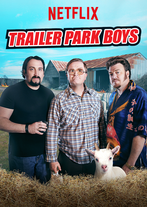 Trailer Park Boys kapak