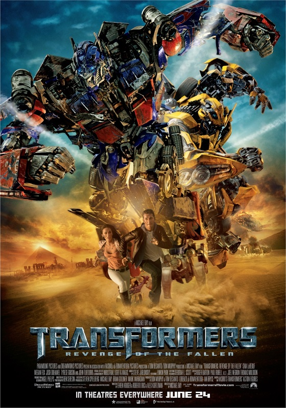 Transformers: Revenge of the Fallen kapak