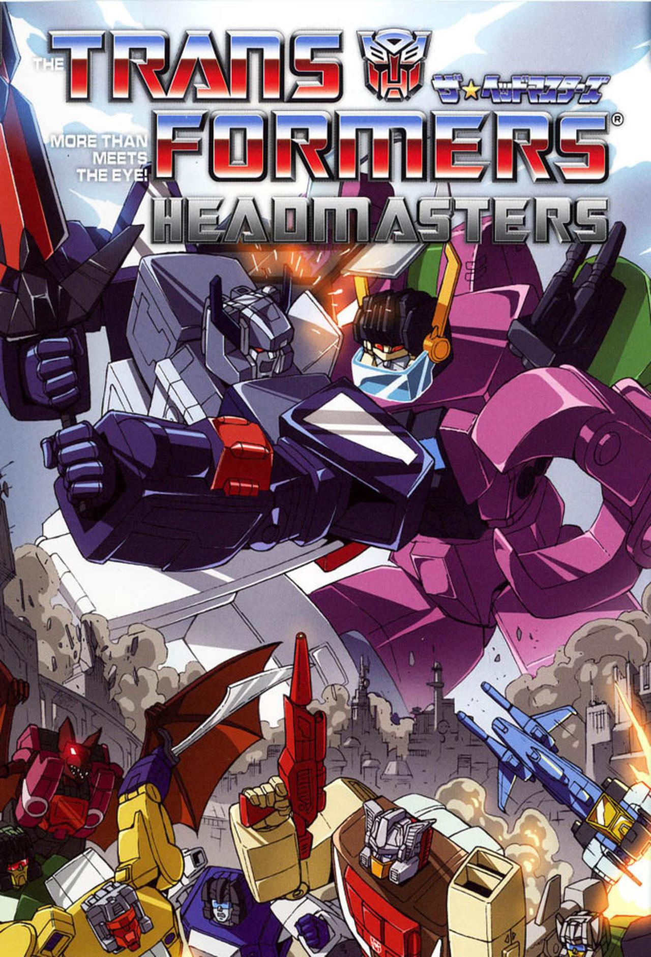 Transformers: The Headmasters kapak