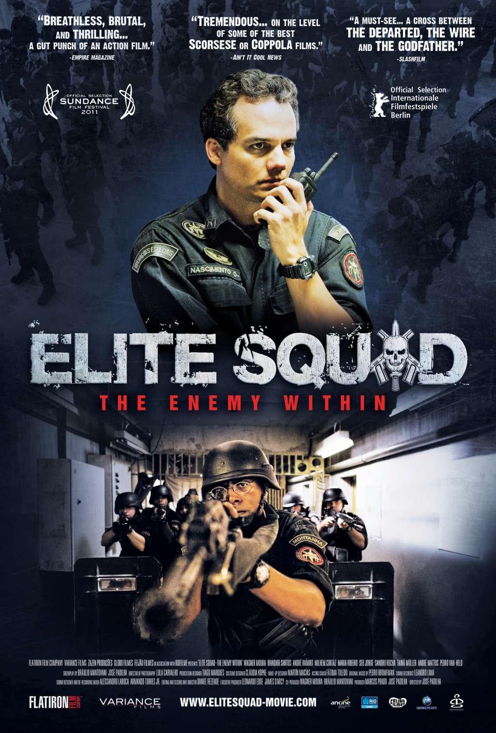 Elite Squad 2: The Enemy Within kapak