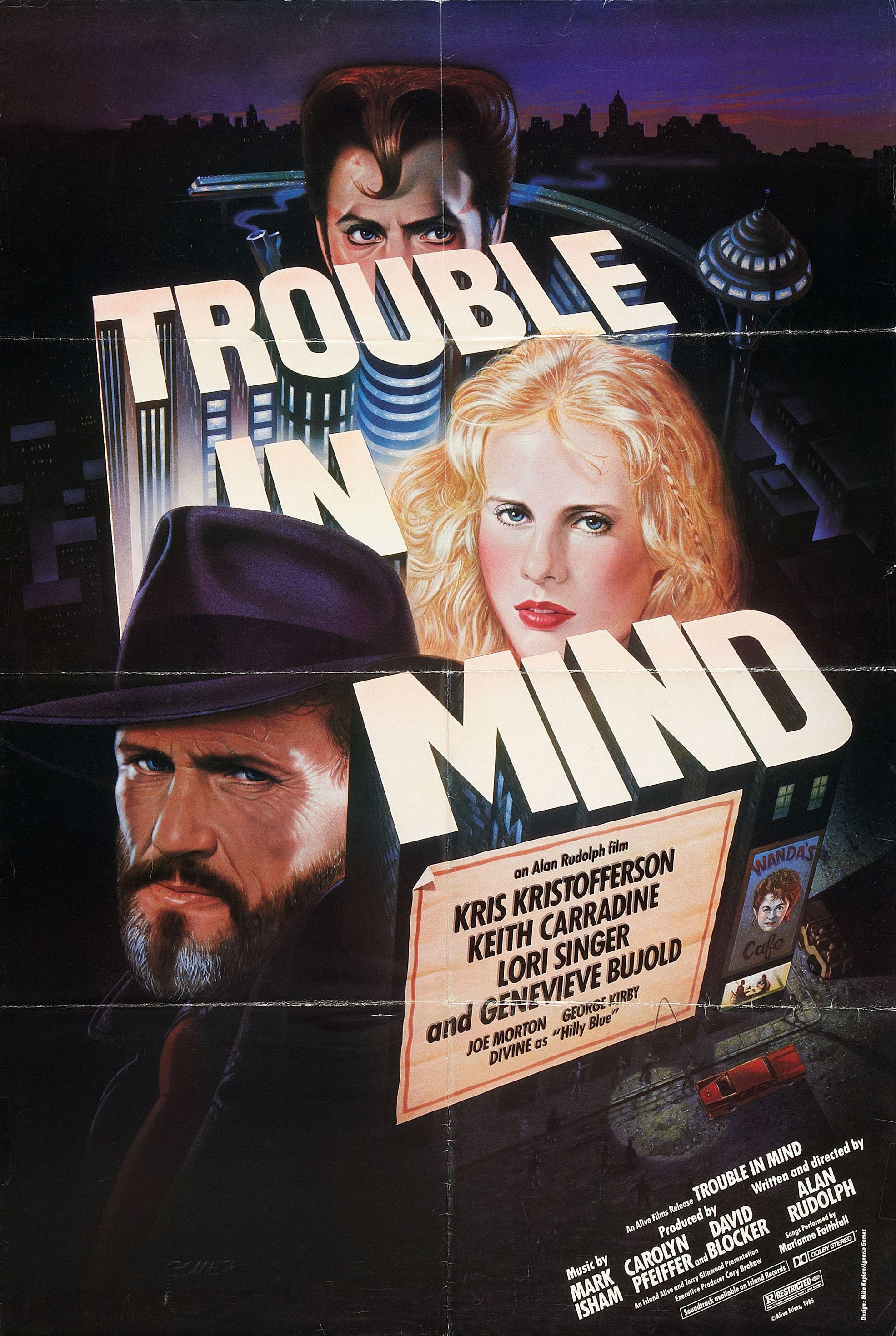 Trouble in Mind kapak