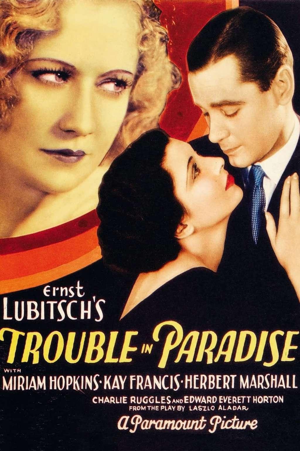 Trouble in Paradise kapak