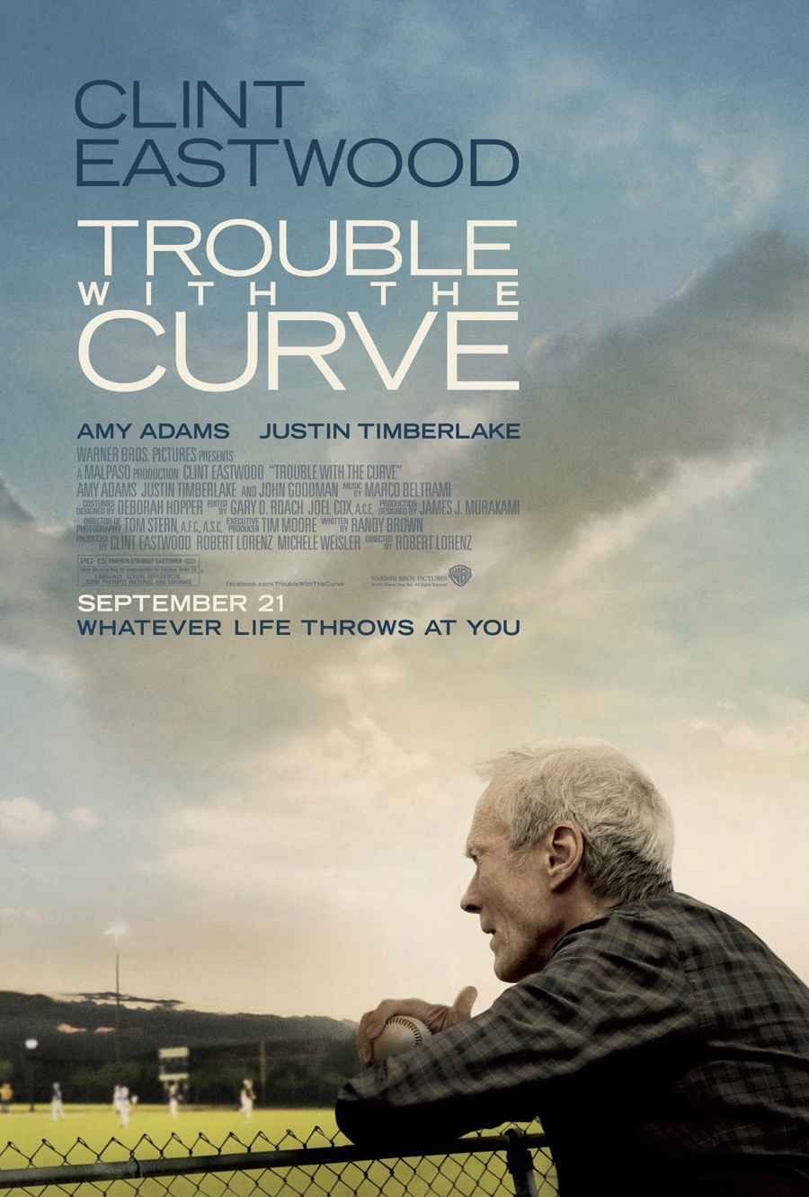 Trouble with the Curve kapak