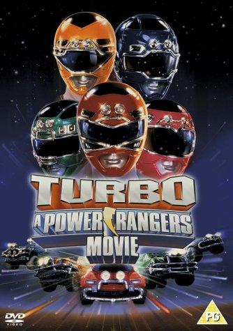 Turbo: A Power Rangers Movie kapak