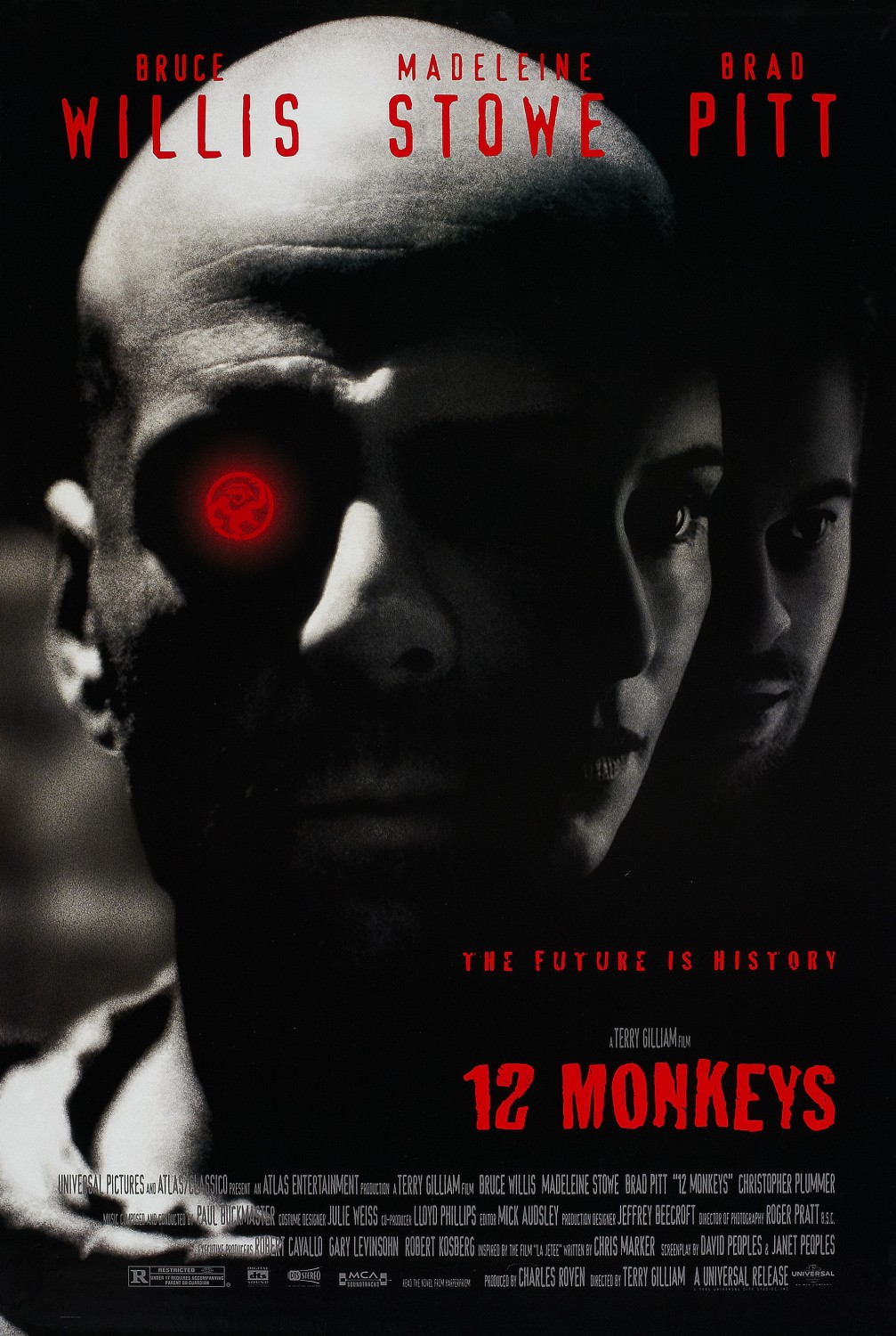 Twelve Monkeys kapak
