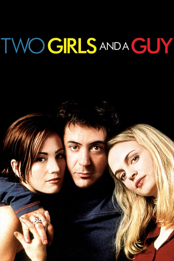 Two Girls and a Guy kapak