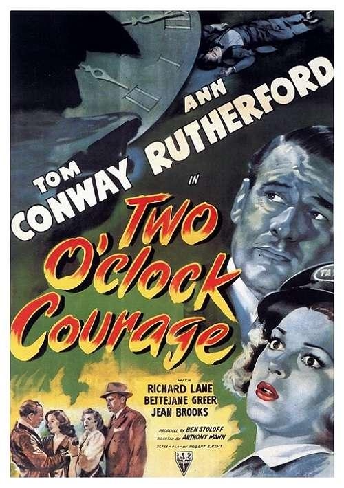 Two O'Clock Courage kapak