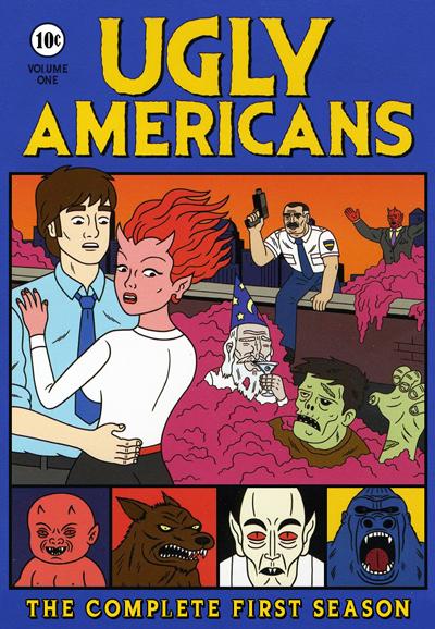 Ugly Americans kapak