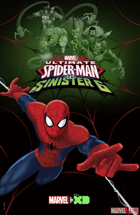 Ultimate Spider-Man kapak