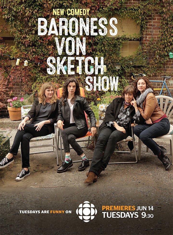 Baroness Von Sketch Show kapak