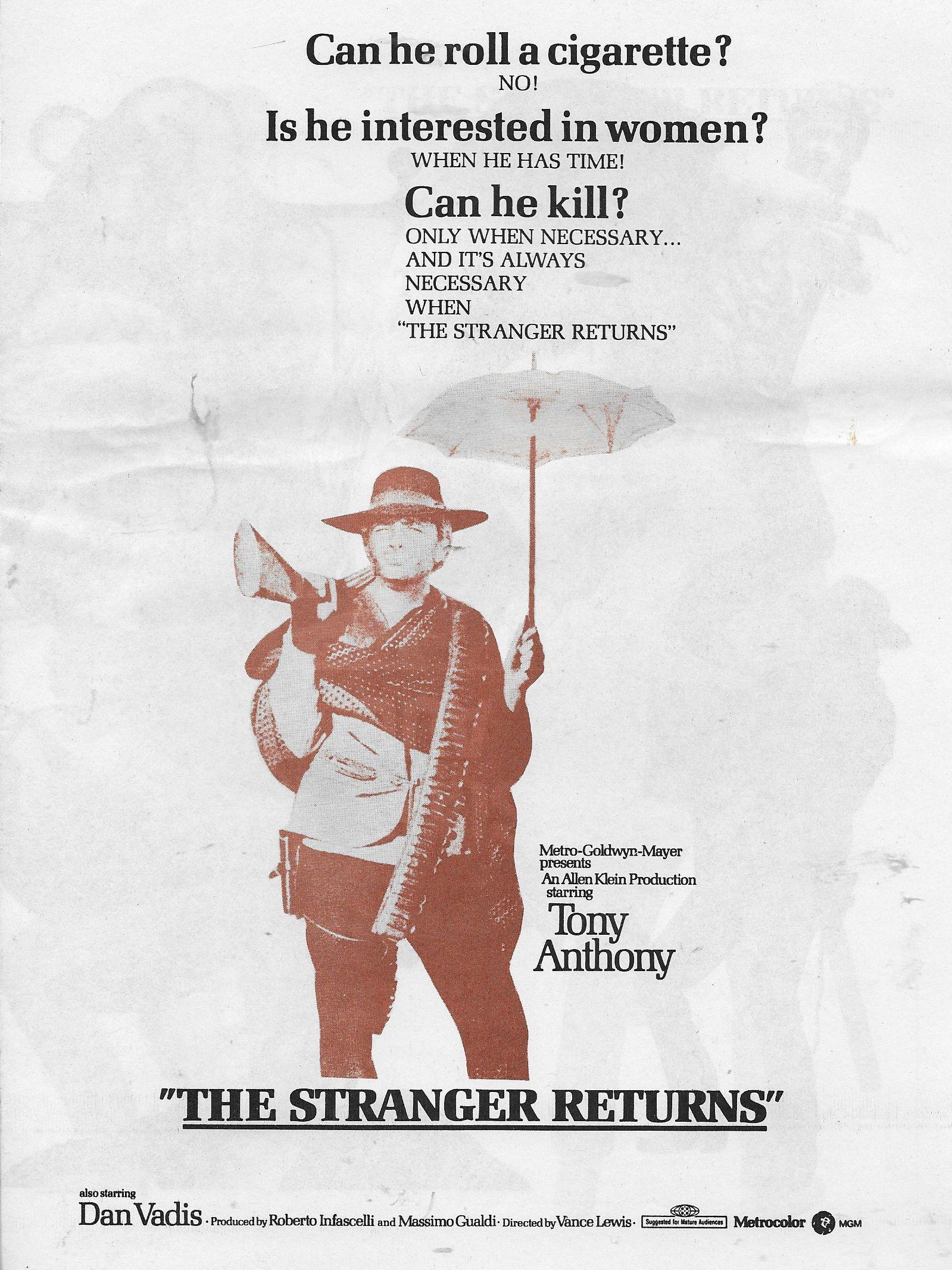 The Stranger Returns kapak