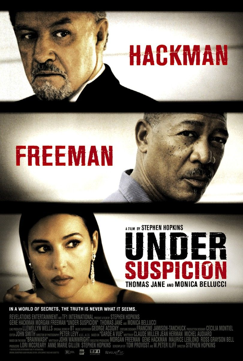 Under Suspicion kapak