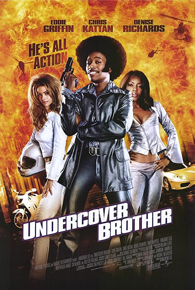 Undercover Brother kapak