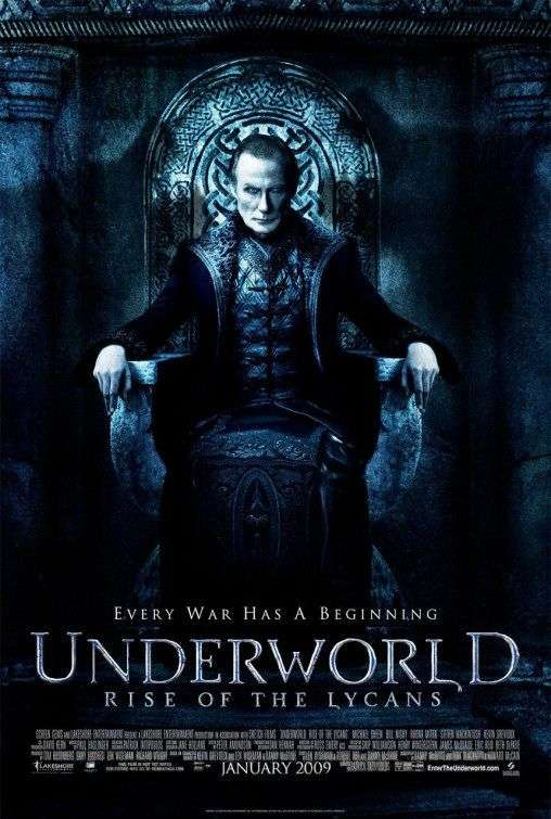 Underworld: Rise of the Lycans kapak