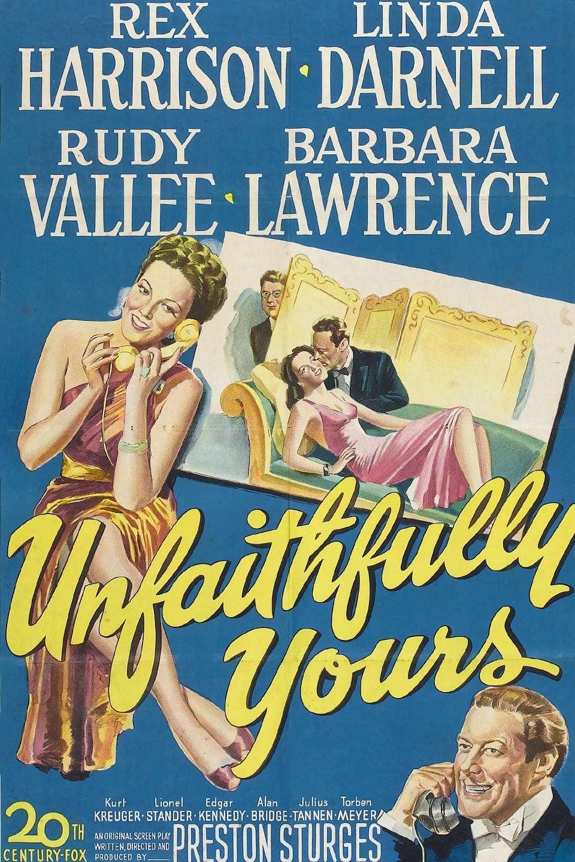 Unfaithfully Yours kapak