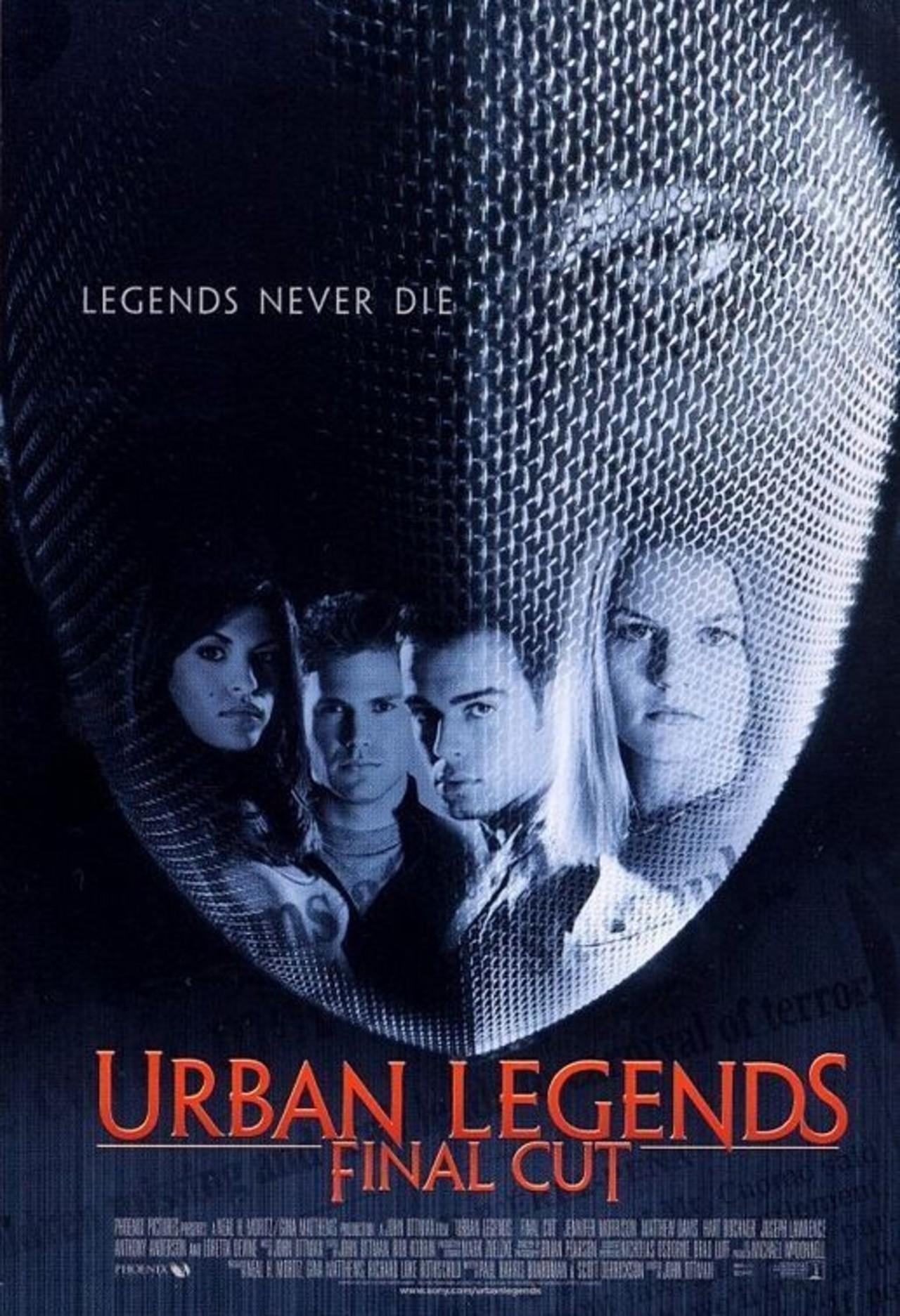 Urban Legends: Final Cut kapak
