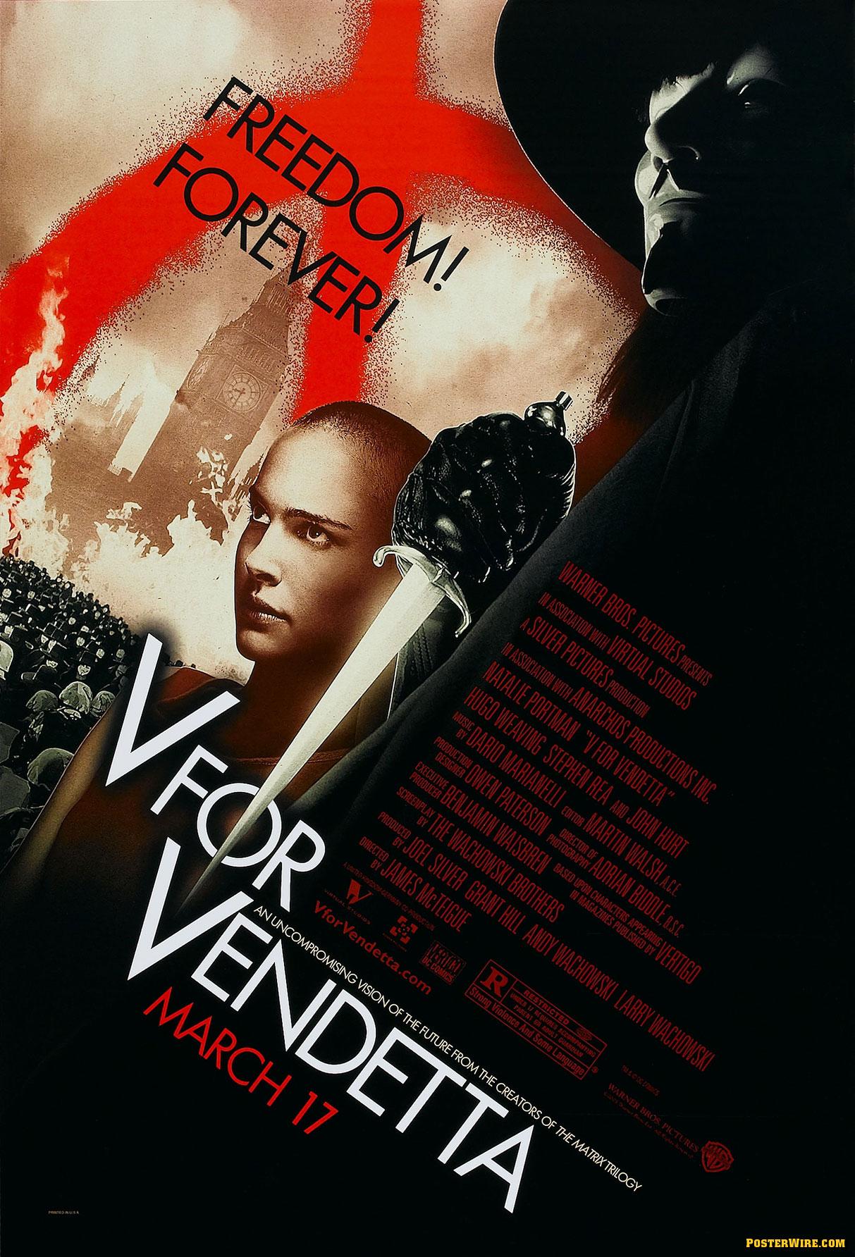 V for Vendetta kapak