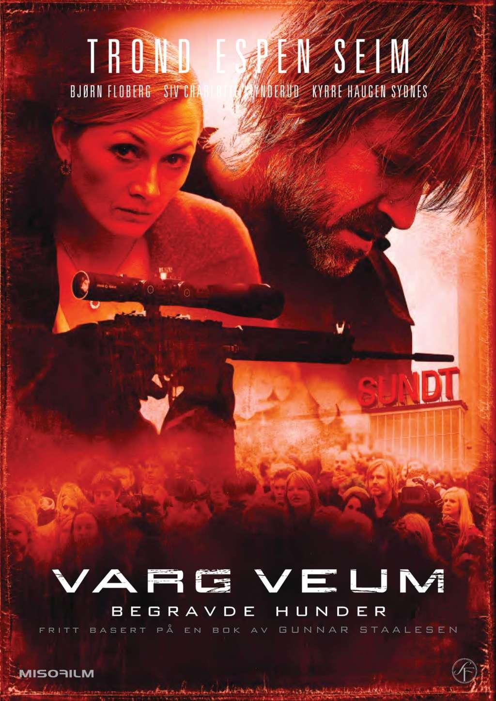 Varg Veum - Buried Dogs kapak