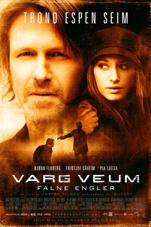 Varg Veum - Fallen Angels kapak