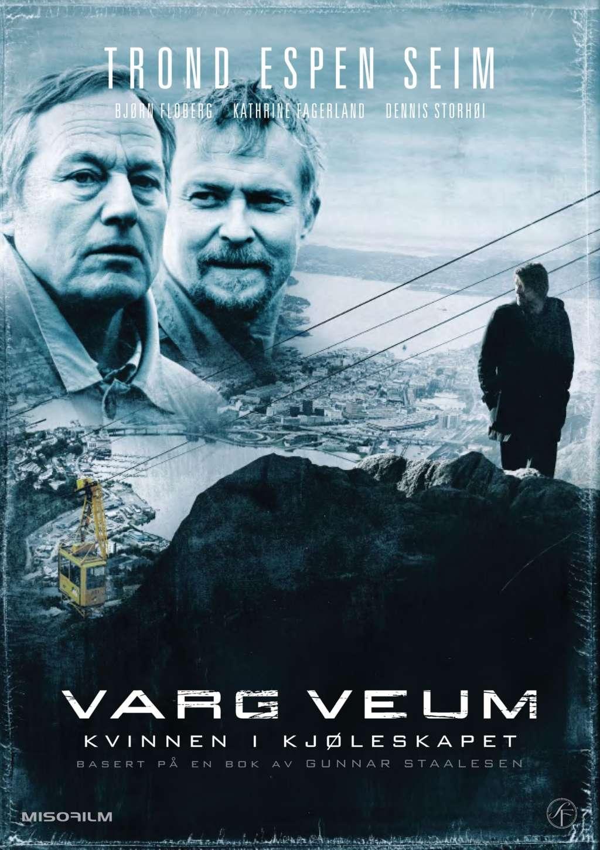 Varg Veum -  Woman in the Fridge kapak