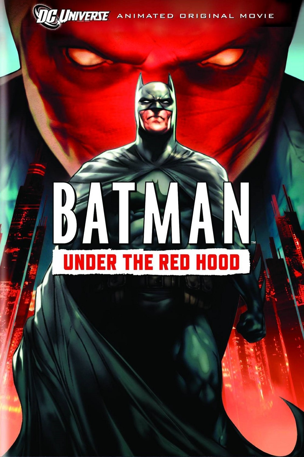 Batman: Under the Red Hood kapak