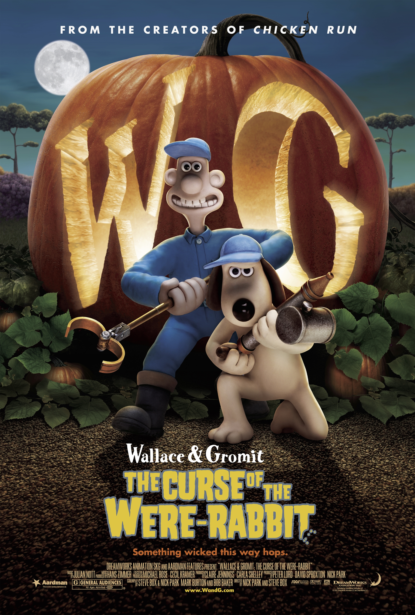 The Curse of the Were-Rabbit kapak