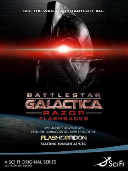 Battlestar Galactica: Razor Flashbacks kapak