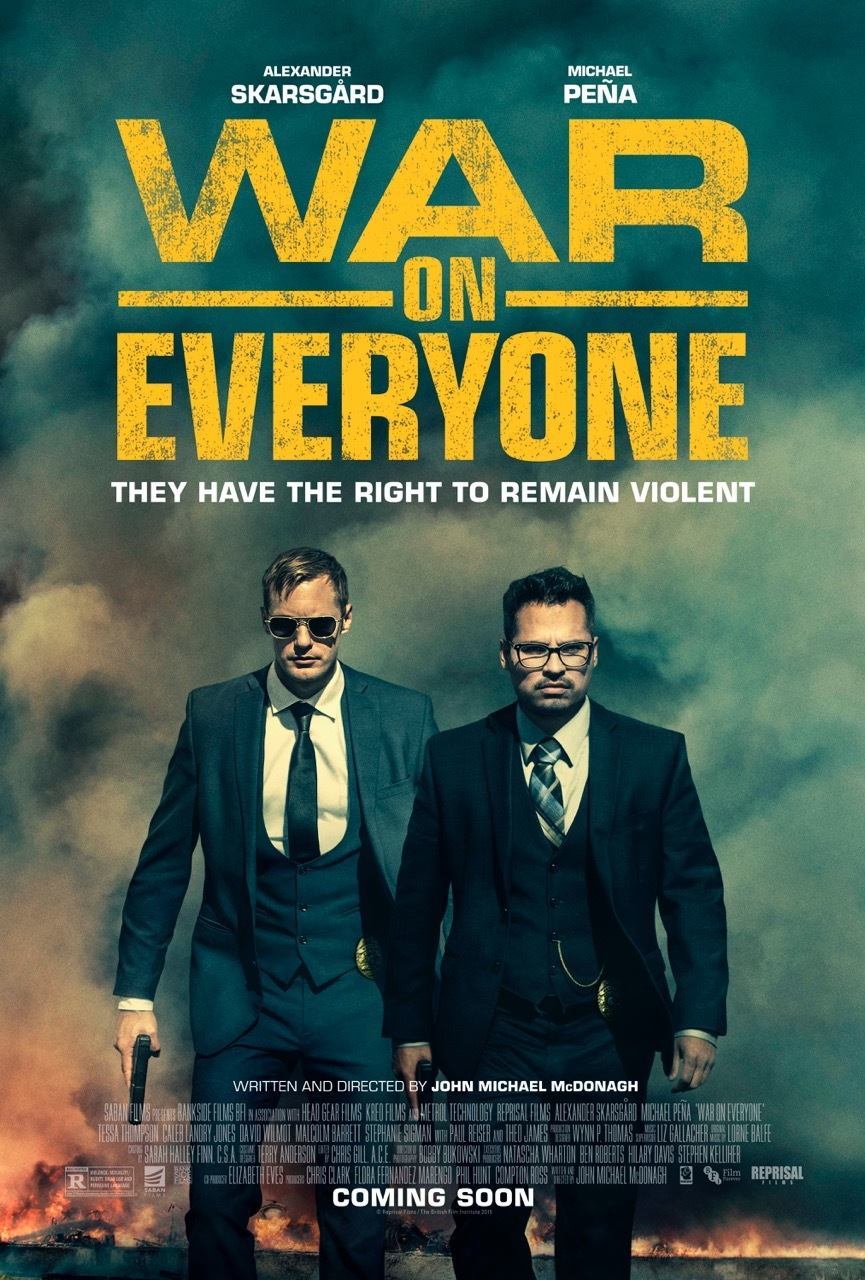 War on Everyone kapak