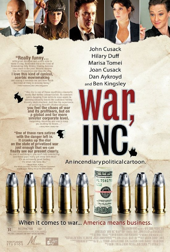 War, Inc. kapak