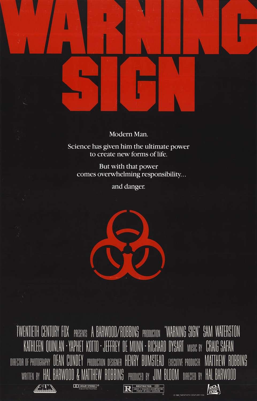 Warning Sign kapak