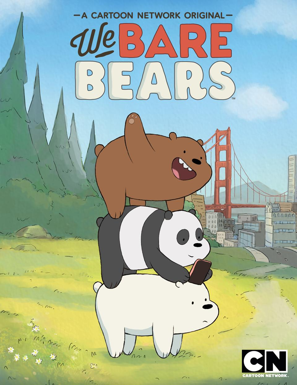 We Bare Bears kapak